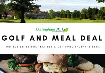 Winter Golf Meal Deal